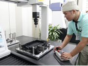 Coordinate measuring machine ensures consistency throughout the manufacturing process